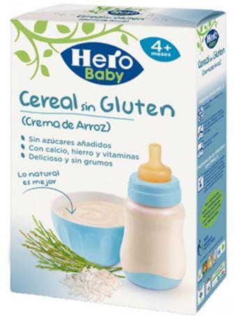 Cereales Hero Baby sin gluten