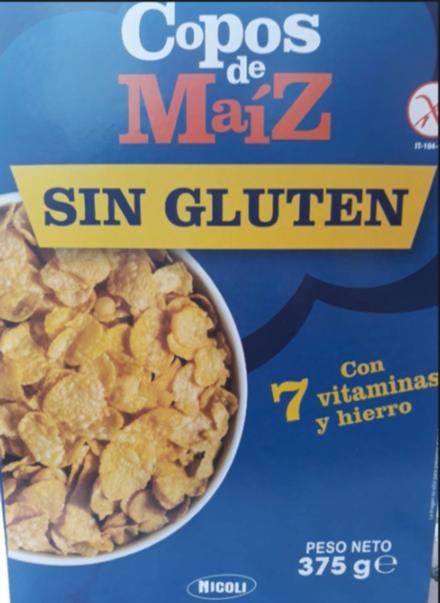 Copos de Maíz sin gluten