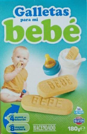 Galletas para bebe sin gluten