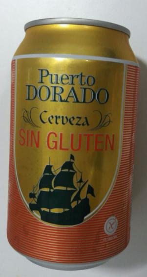 Cerveza sin gluten puerto dorado