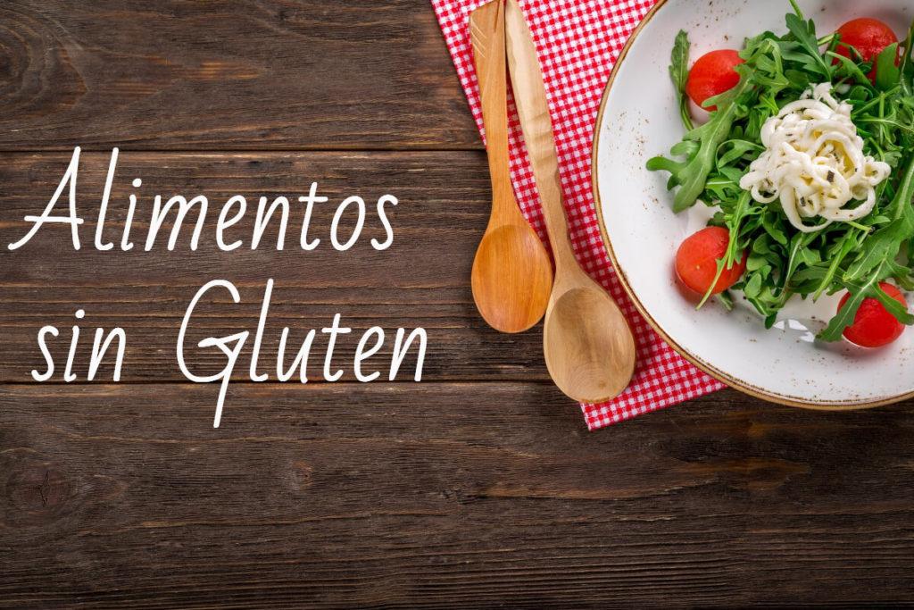 Alimentos sin gluten aptos para celíacos y alimentos con gluten